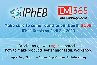 IPhEB and DM 365 Agile workshop are around the corner!